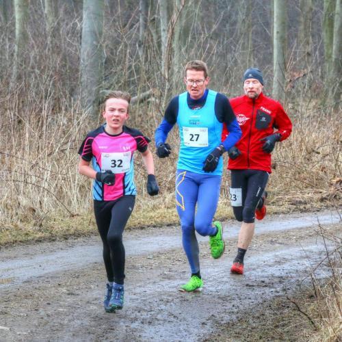 IMG 2826 Phm SF B2 B kv Hurtigste dreng, Lucas Jeppesen foran Lars Hjorth Jensen og Frank Andersen